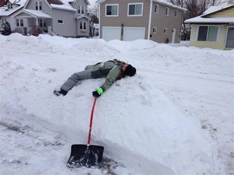 Shoveling Snow Meme - let it stop 9 struggles you face trekking through the snow