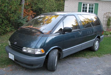 blue book used cars values 1994 toyota previa navigation system 1992 toyota previa green 200 interior and exterior images