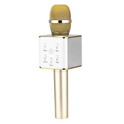 Microphone Speaker Portable Karaoke Ktv Wireless Mic Geek09 Series Ori neewer q7 portable wireless karaoke microphone with built in bluetooth speaker ebay