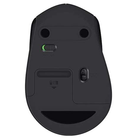 Mouse Logitech M331 buy logitech m331 silent plus wireless mouse black 910 004914 best price in india at