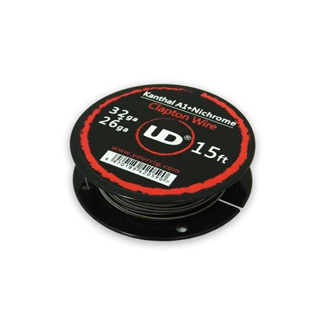 Nichrome Wire Ni80 26 Awg By Youde Ud ud kanthal and nichrome clapton wire 15ft tecc