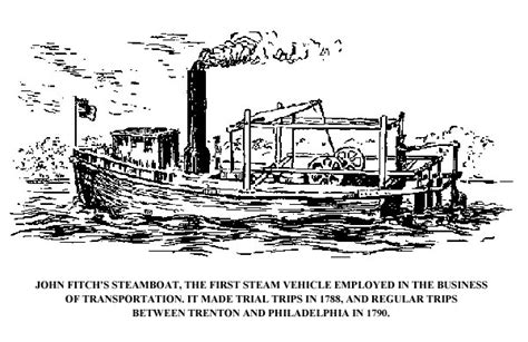 steamboat invention date trenton historical society new jersey