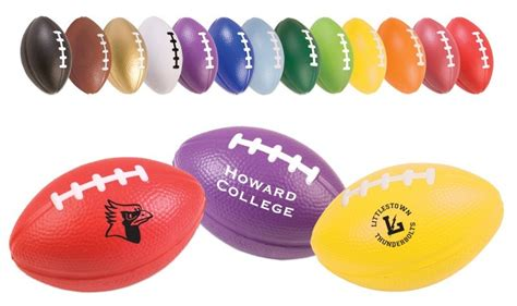 promotional football stress ball colors - Stress Ball Giveaways