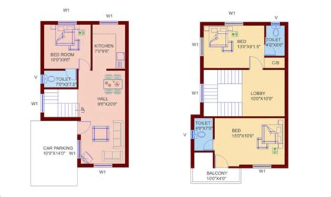 duplex house designs floor plans small duplex house plans home designs building plans