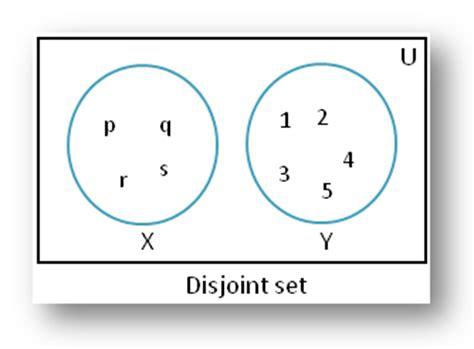 venn diagram disjoint sets image gallery disjoint sets