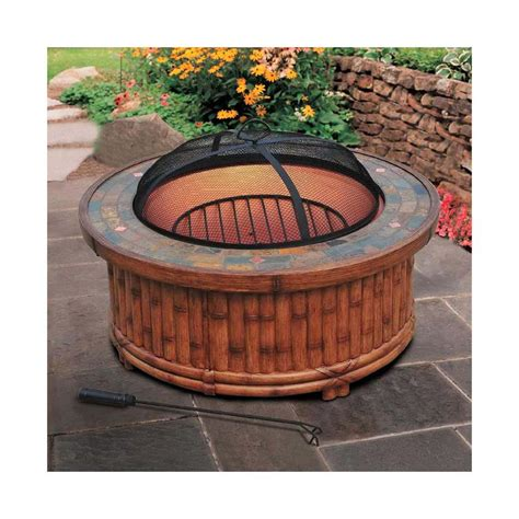 Backyard Pit Grill by Adjustable Pit Grill Pit Design Ideas