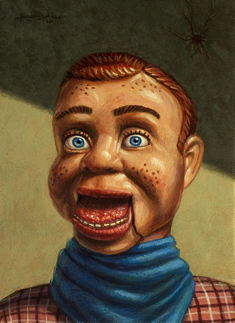 Howdy Doody L by Howdy Doody Dodged A Bullet Painting By W Johnson