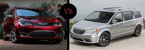 country towns 2017 chrysler pacifica vs 2016 chrysler town and country