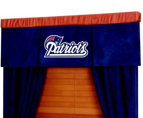 new england patriots curtains new england patriots nfl football valance