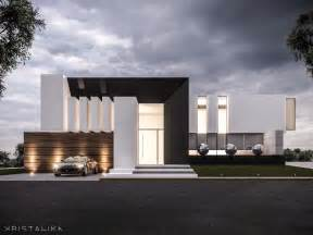 House Architect Design Da House Architecture Modern Facade Contemporary House Design Kristalika Arquitecture