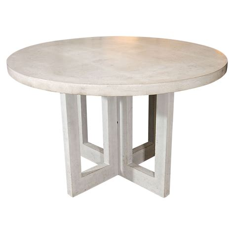 Concrete Dining Room Table by Dalton Concrete Dining Table At 1stdibs