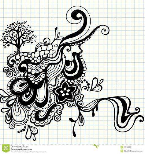 free vector doodle swirls doodle swirls vector royalty free stock photos