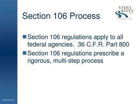 section 106 guidelines ppt geothermal projects and indian tribes dealing with