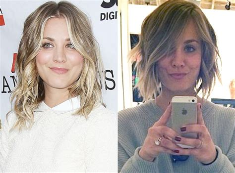 cuoco sweeting new haircut kaley cuoco looked different 20 best luscious locks images on pinterest celebrity