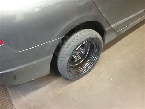 How Are Car Tires Installed How Not To Install A Spare Tire Maintenance Repairs