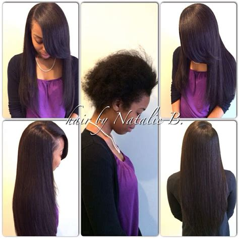 before and after sew in pics beautiful before after flawless sew in 174 hair weaves