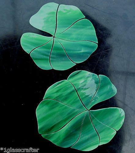 mosaic lily pattern 127 best aquariums images on pinterest stained glass