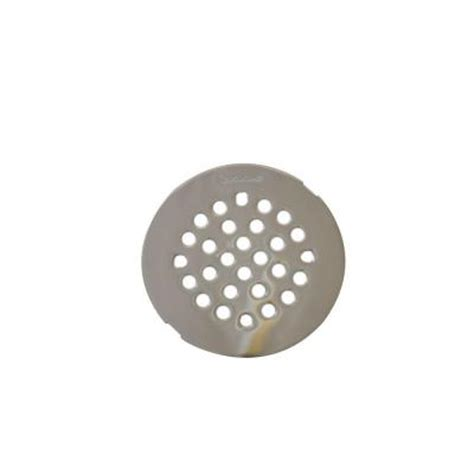 moen 4 1 4 in brass tub shower drain cover 101663nl the