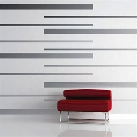 Wall Stripe Stickers room stripes vinyl wall decals modern wall decals