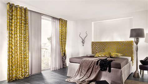 Vorhänge Bunt Gemustert by Vorh 228 Nge Schlafzimmer Idee