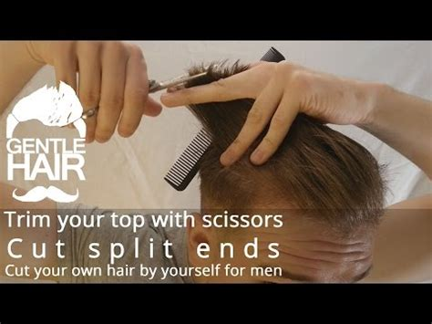 how to cut trim shape your own hair medium length men how to cut trim shape your own hair medium length men