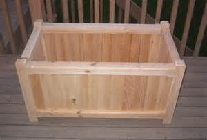 cedar deck planter box plans free pdf woodworking