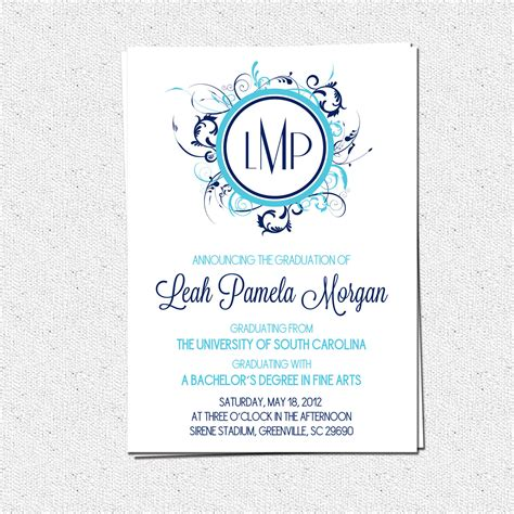 free printable graduation invitation maker top 15 graduation invitation maker to inspire you