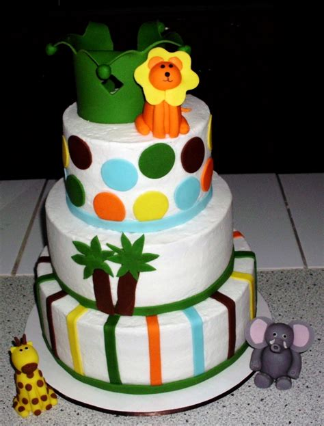 King Of The Jungle Baby Shower by King Of The Jungle Babyshower Cake Cakecentral