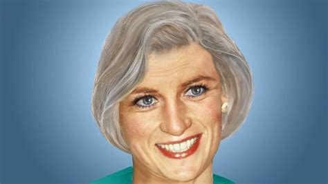 princess diana look like is this what princess diana would look like now 9honey