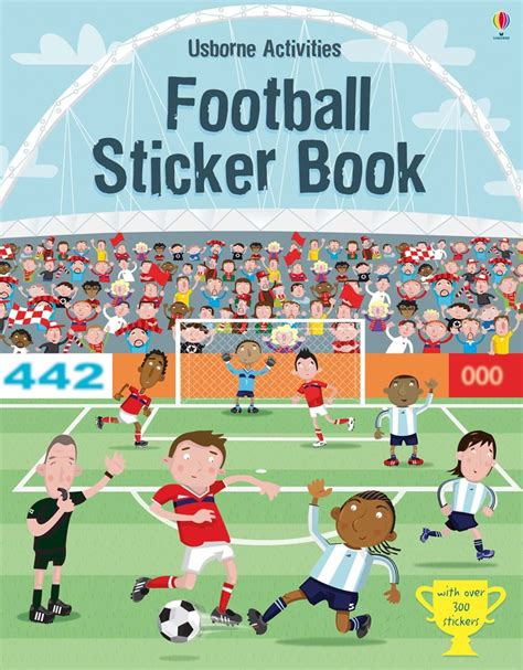 Sticker Book football sticker book at usborne books at home