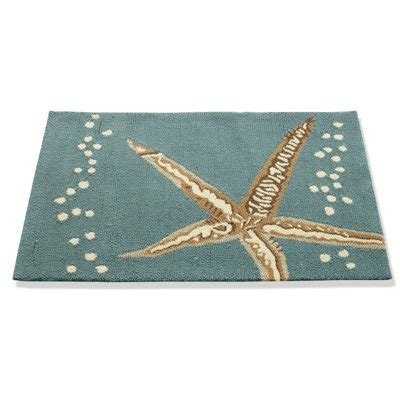 pottery barn starfish rug starfish outdoor rug i want