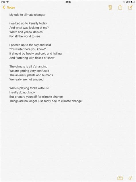 Ode to climate change | Climate change, Climates, Up to