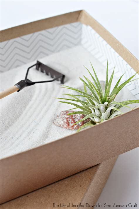 craft mini zen garden for father s day see vanessa craft