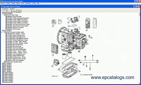 kenworth truck parts catalog kenworth electronic parts catalog 06 2004