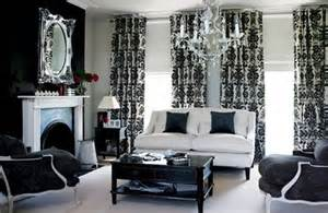 black and white living room curtains black and white living room design ideas