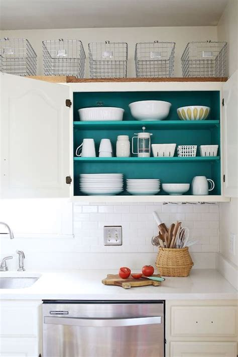 get organized kitchen cabinets a beautiful mess 1000 ideas about inside kitchen cabinets on pinterest