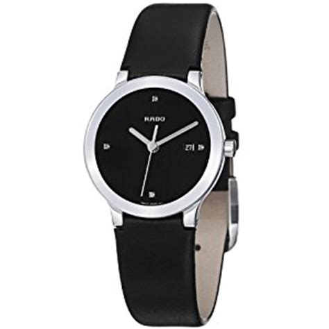 rado s r30928715 centrix black leather