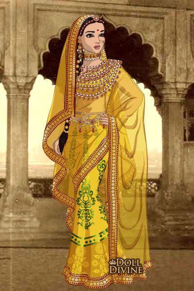 sari maker design games jodha bai by kaurwaki created using the sari doll