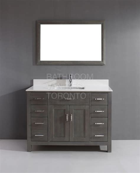 Grey Bathroom Vanity Cabinet Kl48sb Grey