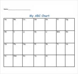 Abc Behavior Chart Template by Sle Abc Chart 7 Free Documents In Pdf