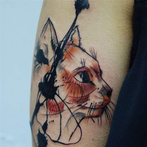 imagenes de tatuajes de gatos para mujeres 30 tatuajes de gatos que todo amante de los felinos amar 225