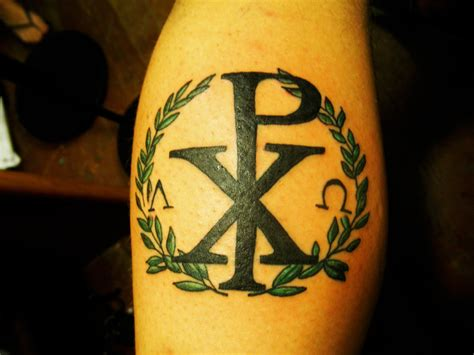 chi rho tattoo chi rho by n3m3th on deviantart