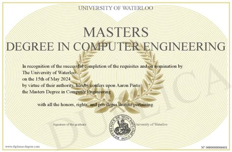 Masters Degree In Engineering | masters degree in computer engineering