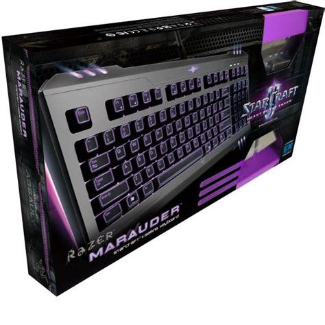 Keyboard Razer Marauder Starcraft Editon 1 razer marauder keyboard starcraft ii pc accessories sc2 new ebay