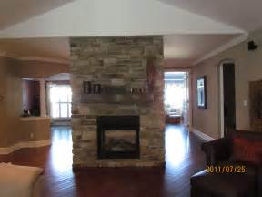 Fireplace Two Sided by Added Elegance With A Sided Fireplace Rick