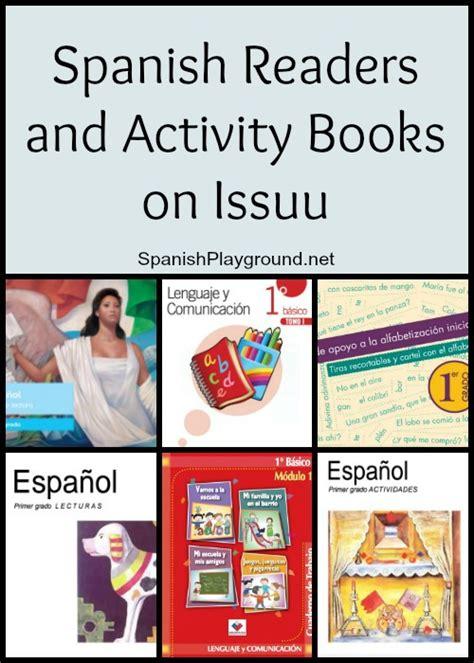 free spanish books for kids free spanish readers and activity books spanish playground