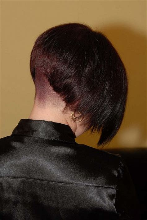 stacked bob nape shaved 149 best inverted bob s images on pinterest bob hairs