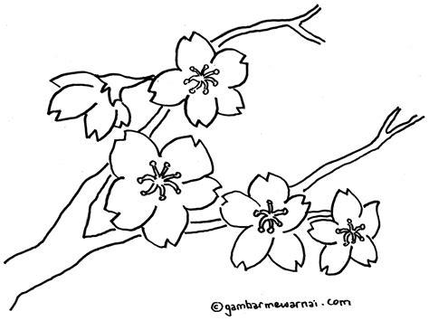 gambar bunga untuk diwarnai ddeded