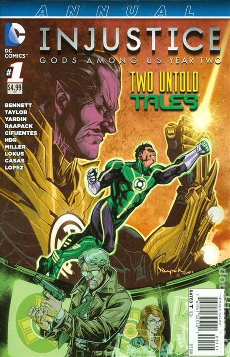 injustice books injustice gods among us year two 2013 annual comic books