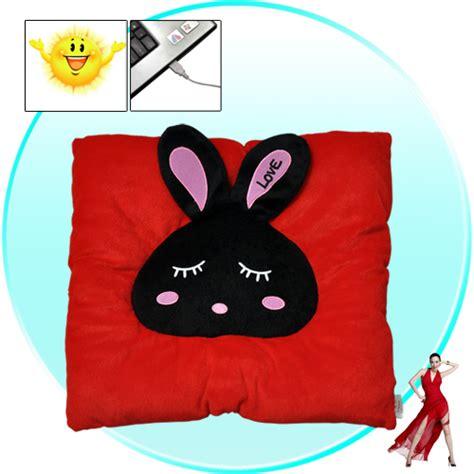 Usb Warmer Cushion Keeps Tush Toasty by Bunny Usb Heated Seat Cushion